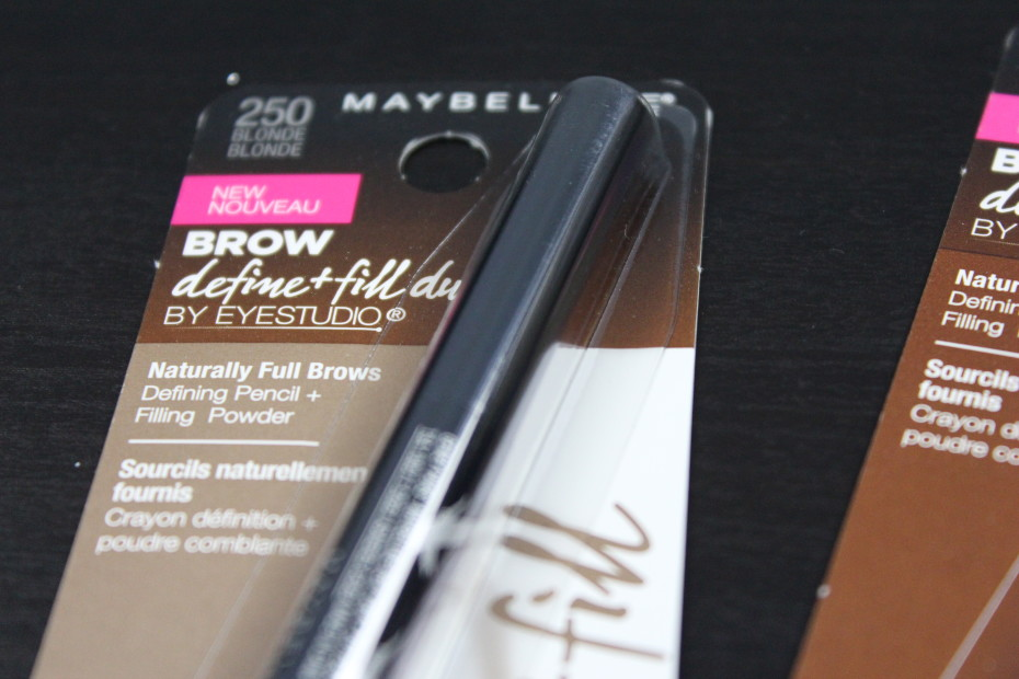 Maybelline Brow Define and Fill duo
