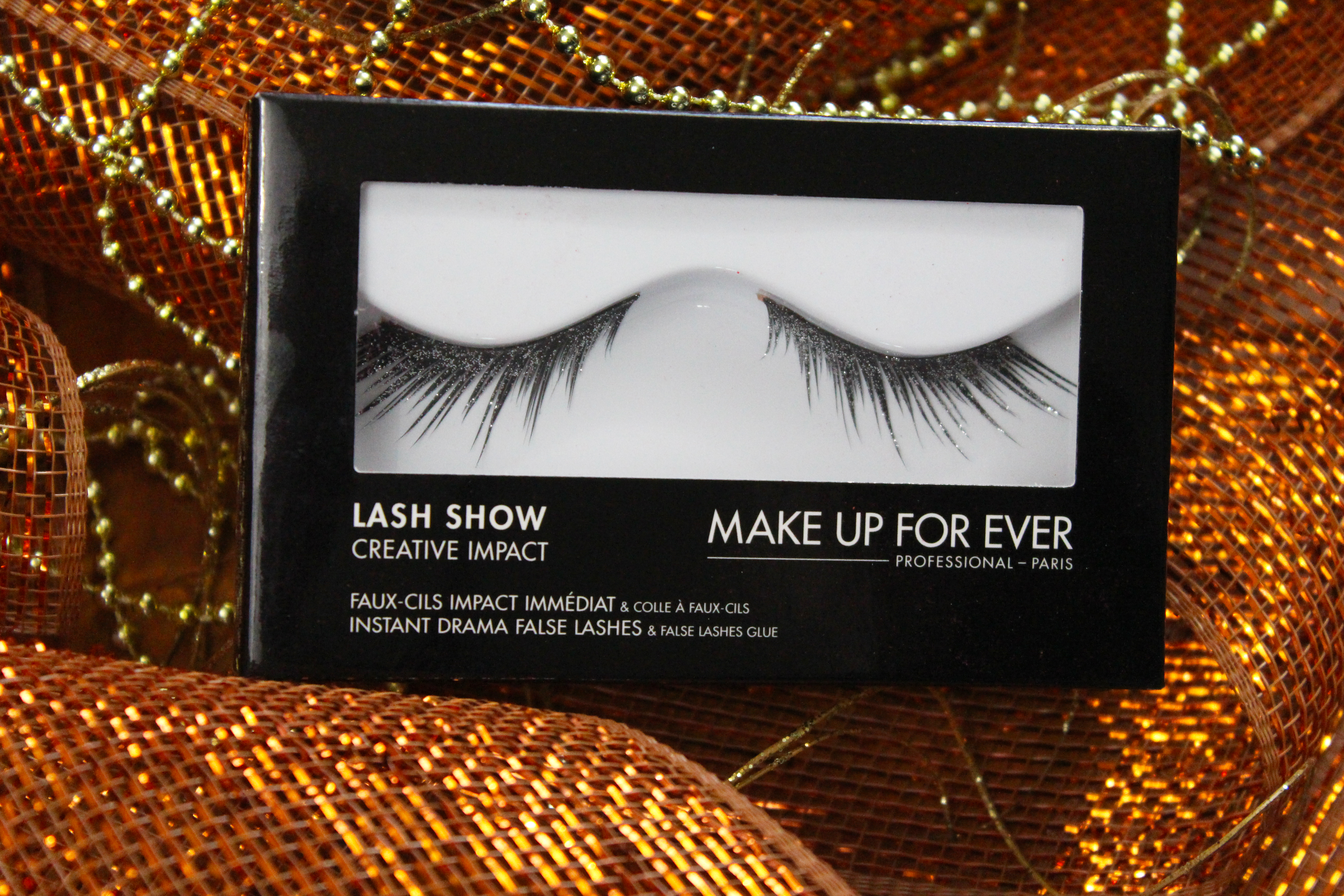 makeup forever lash show