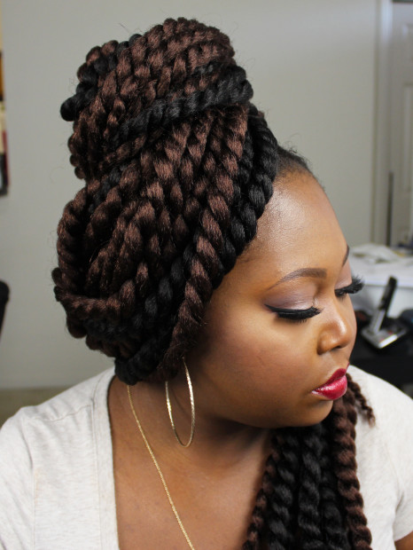 authentic synthetic crochet braids 2X jumbo senegalese twists