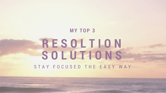 top 3 resolution solutions