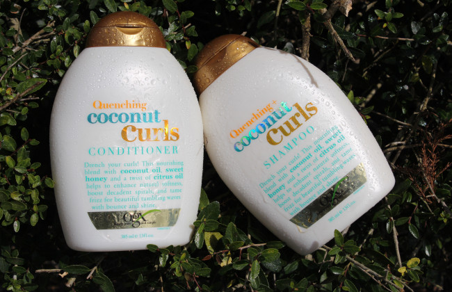 ogx quenching coconut curls