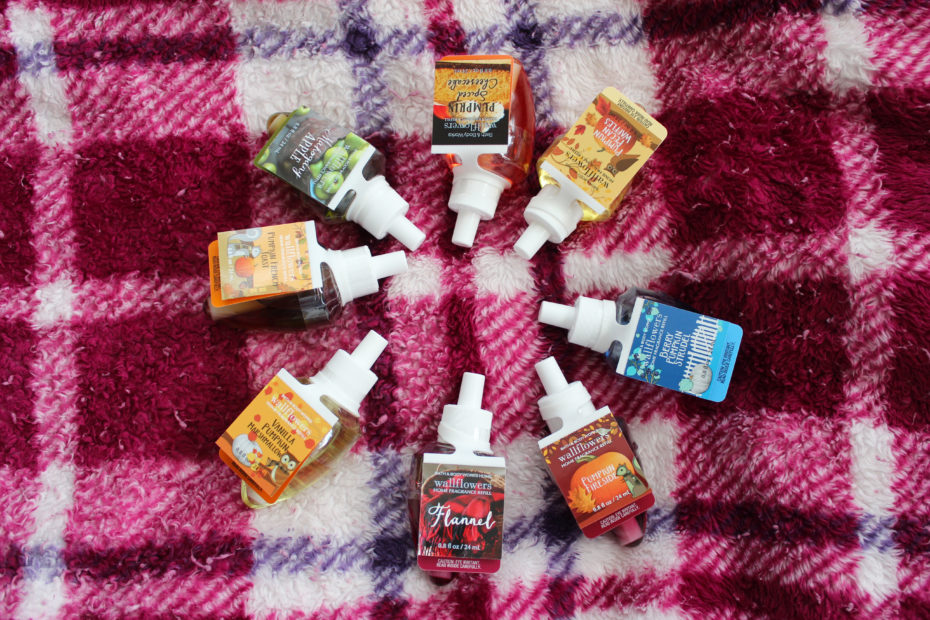 bath and body works fall 2016 scents