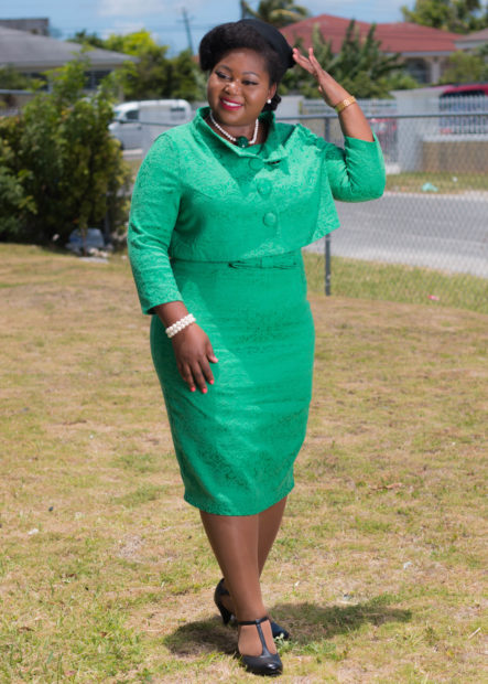 emerald green maybelle dress