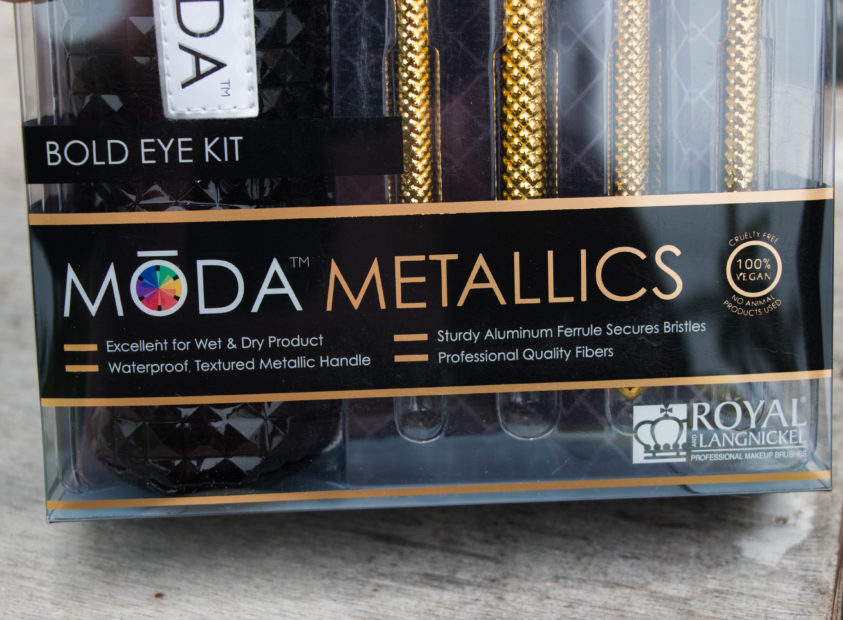 Royal and Langnickel MODA Metallics Bold Eye Kit