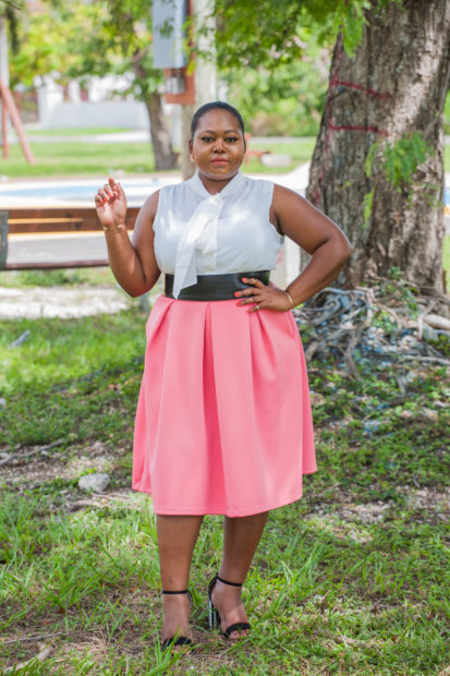 full midi skirt outfit