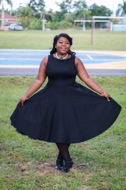 black classy dress