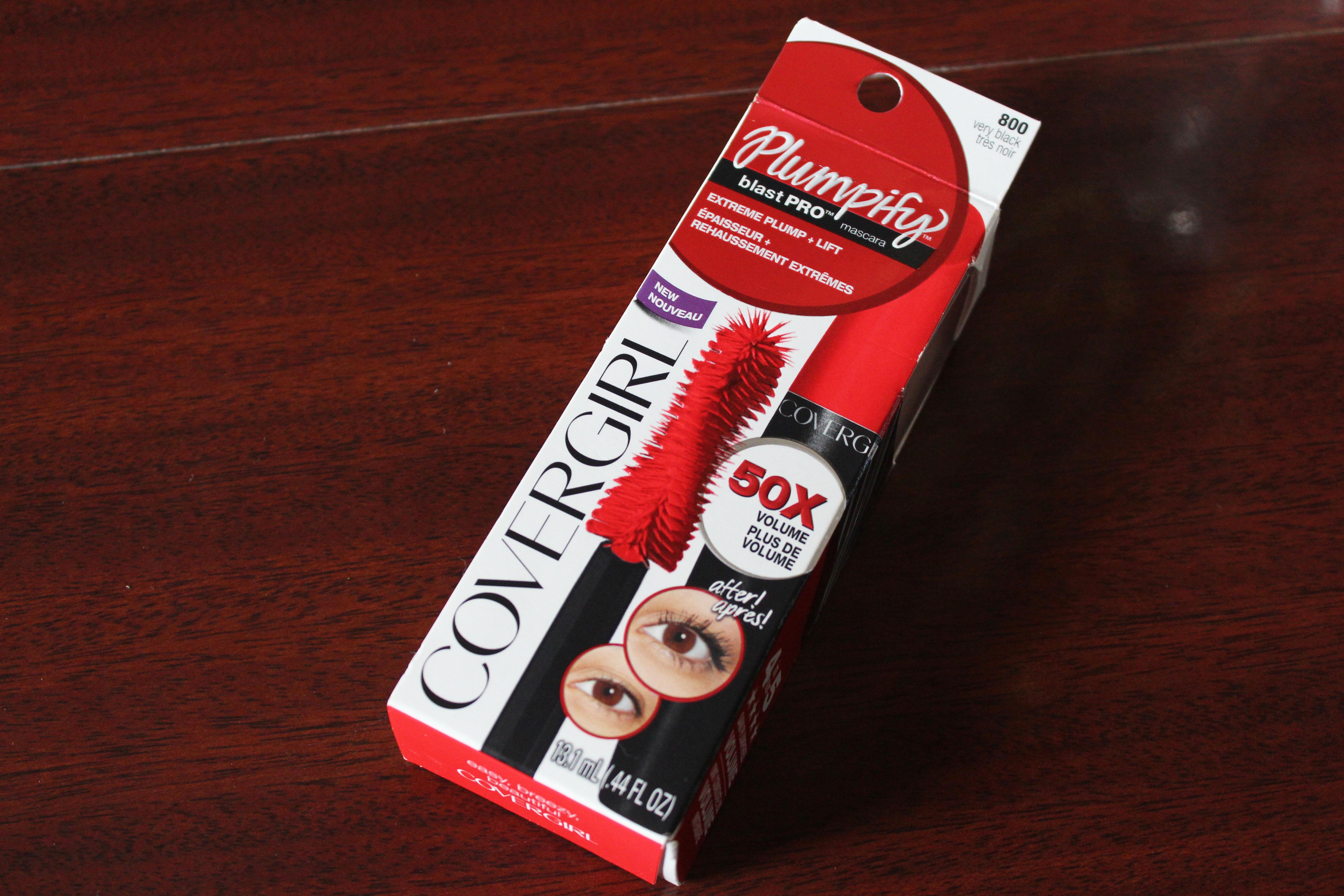 covergirl plumpify blast pro mascara