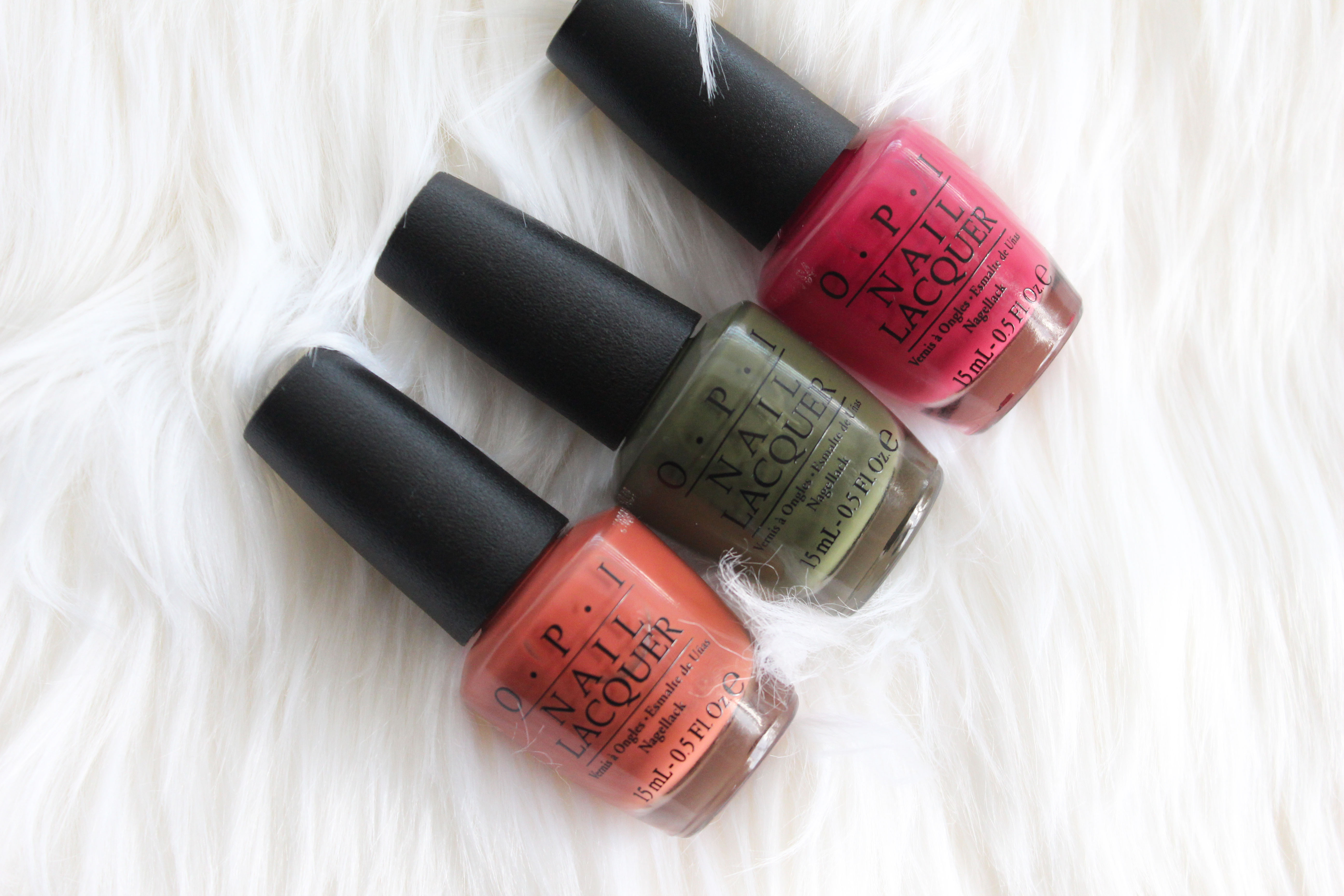 OPI Washington DC Collection Swatches