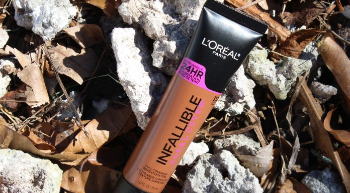 l'oreal infallible total cover foundation