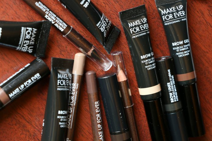 make up for ever brow collection
