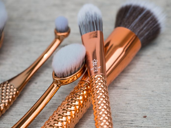 royal and langnickel MODA Rose Gold metallics brushes