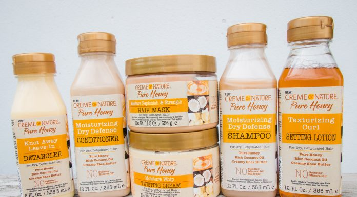 creme of nature pure honey line