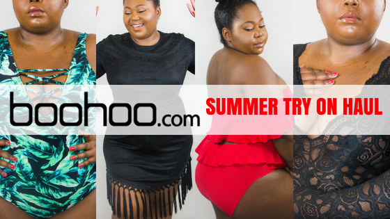 boohoo plus size summer try on haul