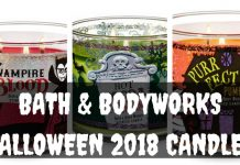 BATH AND BODY WORKS HALLOWEEN CANDLES