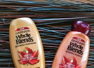 garnier whole blends maple remedy review