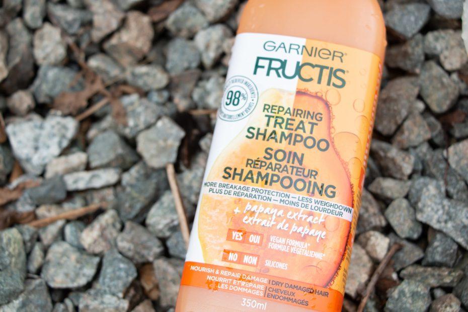 garnier fructis repairing treat haircare