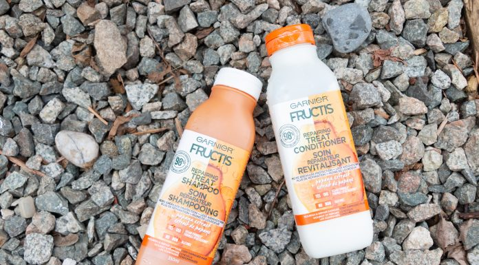 garnier fructis repairing treat haircare