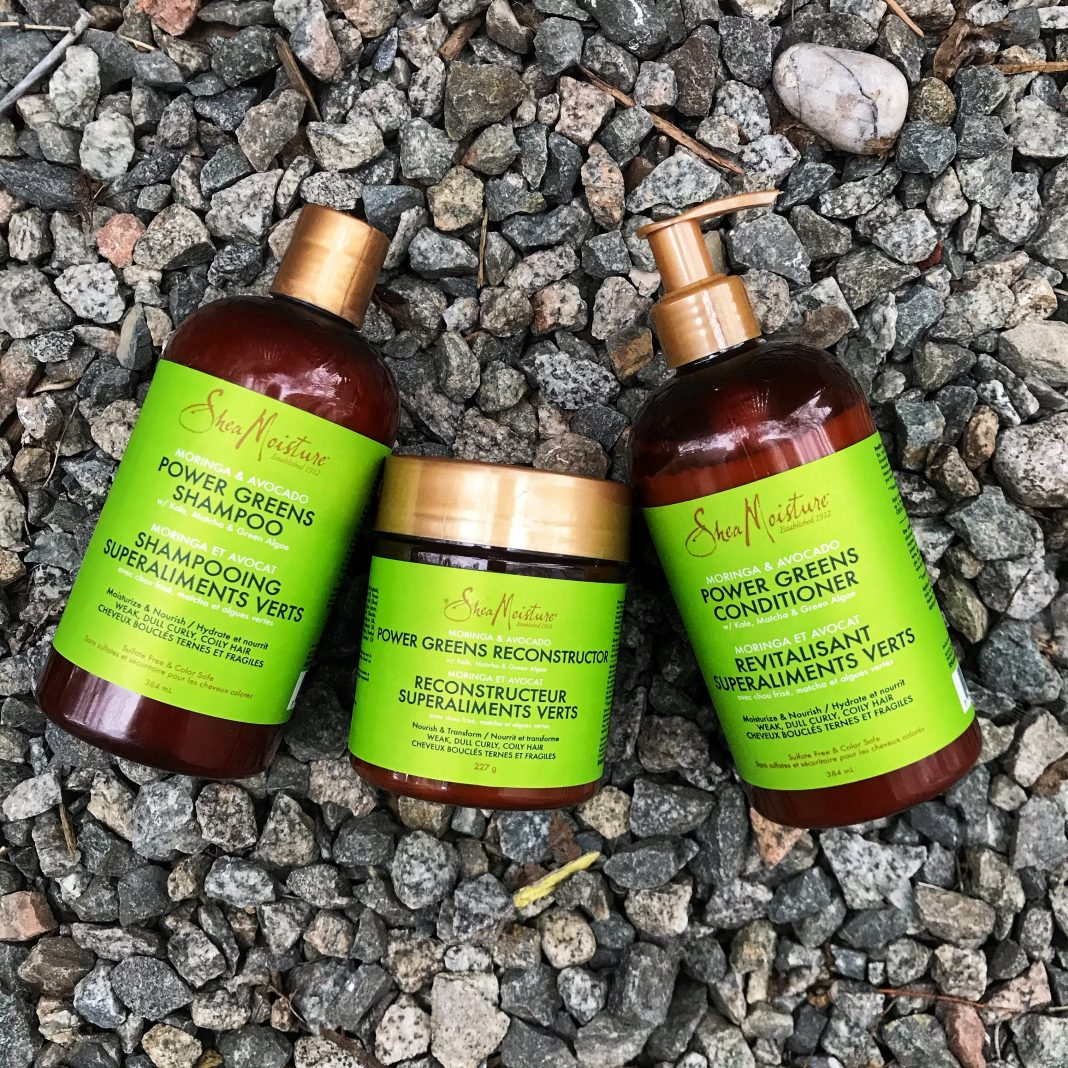 shea moisture moringa and avocado power greens