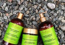 shea moisture moringa and avocado power greens