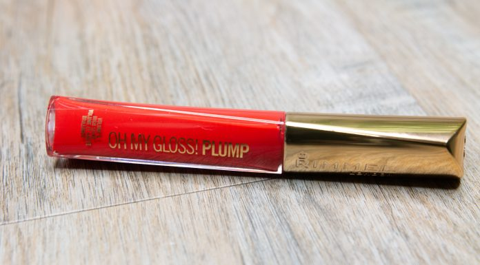rimmel london oh my gloss plump