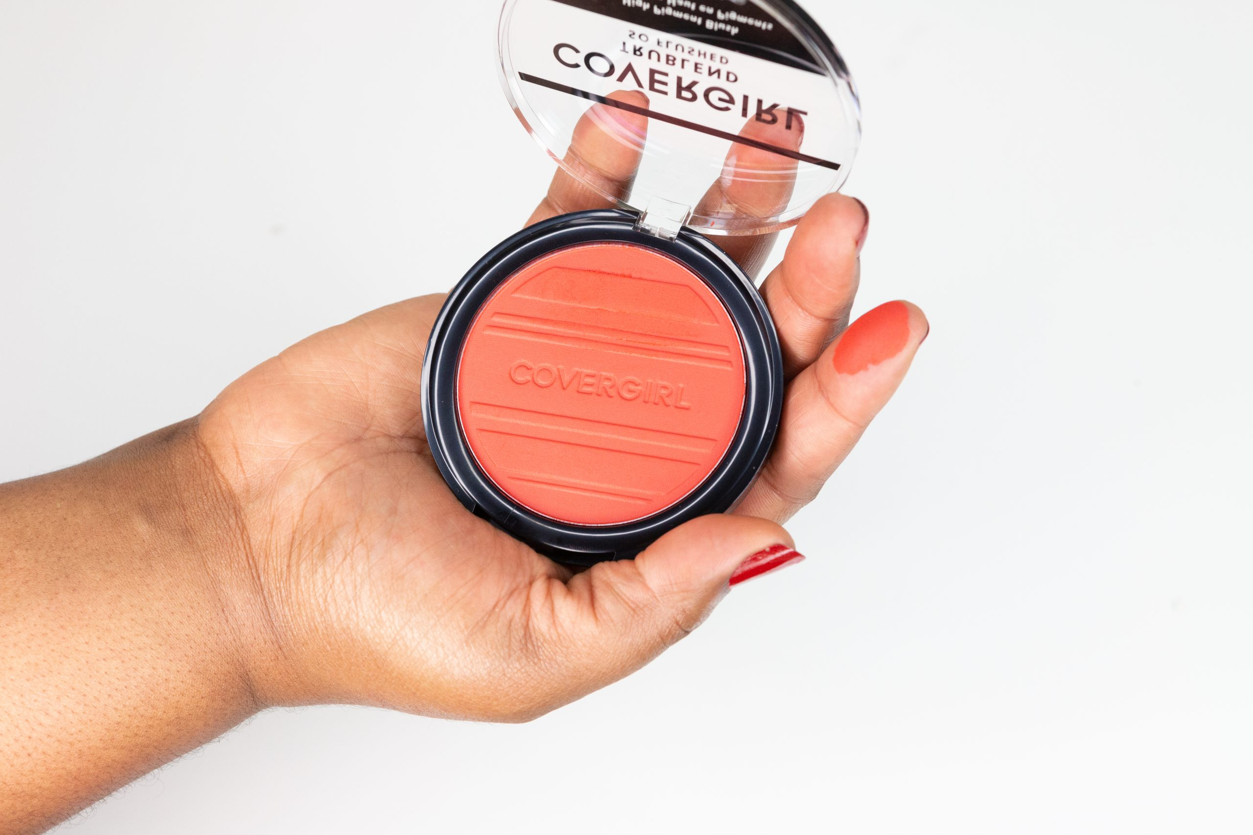 covergirl trublend so flushed blush hot frenzy