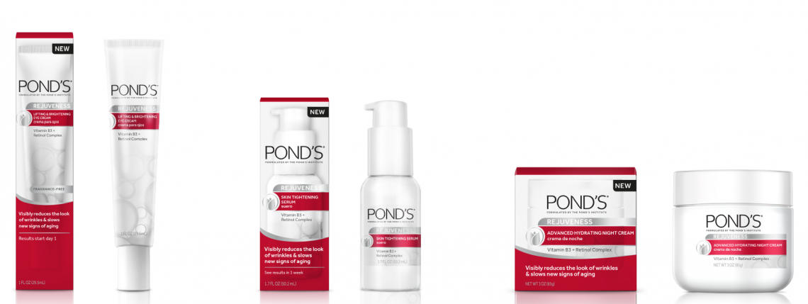 pond's rejuveness collection