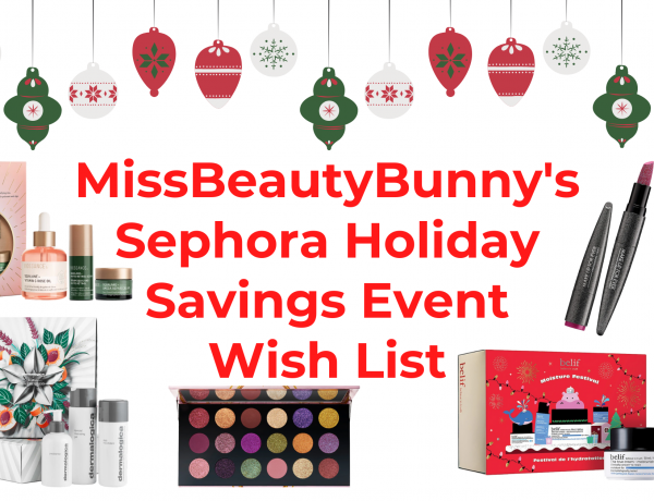 sephora holiday savings event wish list