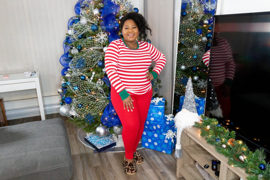 how to mix and match holiday pajamas